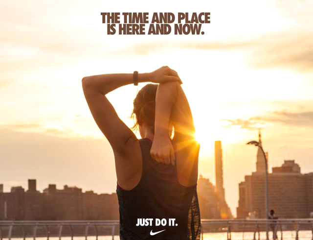 the time and place is here and how