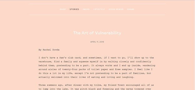 The Art of Vulnerability